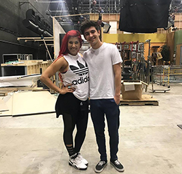 Mady-on-Set-with-Kyson-Facer-choreographing-for-Nickedoeaon-I-am-Frankie—-still-missing-on-webpage