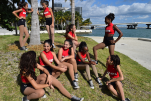 Miami hip hop is incorporated into the hip hop dance classes at Mady's Dance Factory.